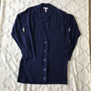 Leith cardigan sweater size medium